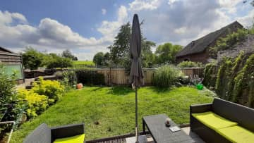 Panoramic view ... this is the garden and as soon as you get out you will be in Nature