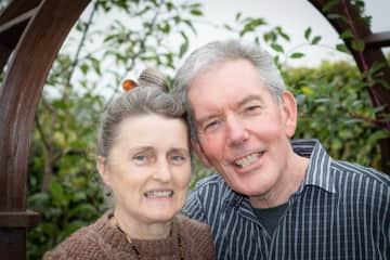 Margaret and Brian