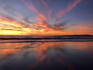Seeking sunsets