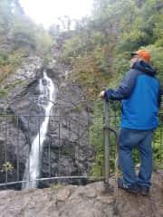 George on short hike