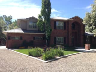 Our home in New Mexico