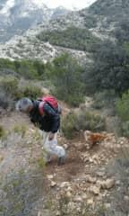 We love trekking.