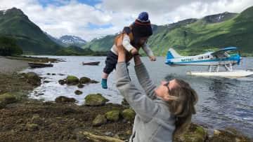 Josh flew us out to Kidden Basin, Kodiak Alaska.