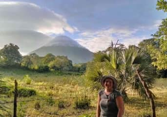 Me on Ometepe Island in Nicaragua