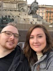 Dan and Em Milan 2018