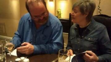 Book signing . Pip & Nick