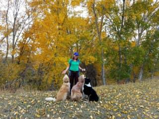 Cathie w/Sara, (Doc-tor) Pepper - Corvallis MT