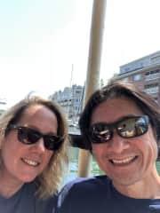 Karen and John in Maine