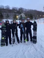 There is Nothing Like Snowboarding with your Best Friends