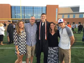 We will be empty nesters soon!  Our youngest son will be graduating in June.