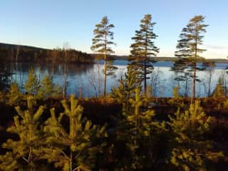 Lakes and forests at the doorstep