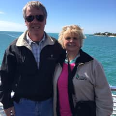 The two of us on our Mediterranean cruise.