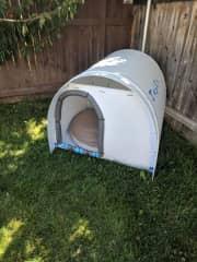 The dog house i built.