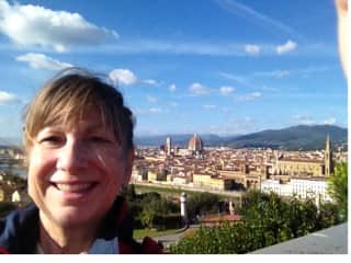 Jackie in Florence, Italy