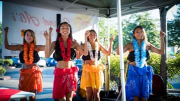 I love performing, and spent one summer dancing hula with my sisters at a Hawaiian restaurant :)