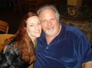 Sherry Richards and my husband Jack Hills