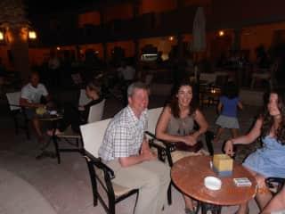 simon and agnieszka in Egypt