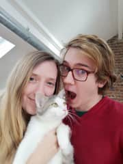 Jen and Shane with Duchesse