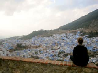 Meditating on life in Chefchaouen
