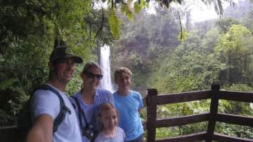 2 week family road trip through Costa Rica