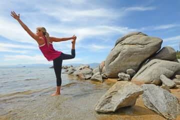 Yoga in Lake Tahoe