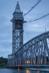 Buzzards Bay Railroad Bridge and Dinner Train