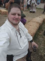 This is me in my Renaissance Fair attire.