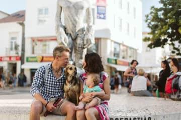 Myself, wife Melisa, son Rafa and dog Hazel