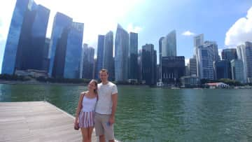 Singapore, our current home!