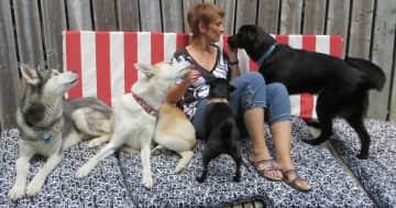 Johanne, at home July 2014