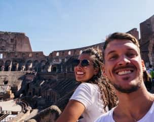 Amalia & Tomas, Roma, Italy.