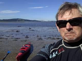2016-Sept Solo Kayaking on Firth of Forth Edinburgh