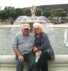 Todd and Dorcie in San Francisco (in front of de Young Museum)