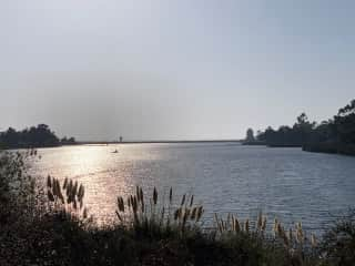 Lake Miramar 1/4 mile from my home