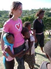 During a volunteering period in South Africa. Such an impressive experience I will never forget! A beautiful country with beautiful people!