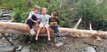 Our kids love spending time outdoors
