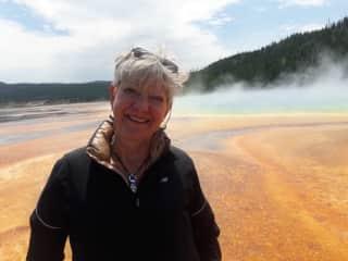 Dot in Yellowstone