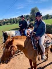 Horseback in Barcelona