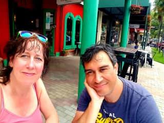 Paul & Petra  summer 2018 Wellington NZ