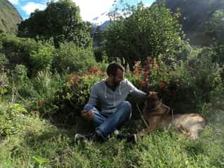 With Geo in Ecuador