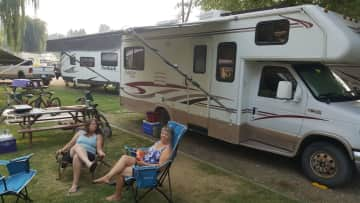 One of my newest hobbies...Camping in my motorhome.