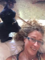 Young Ripley playing with Sian's hair
