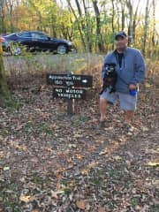 Shenandoah National Park hiking