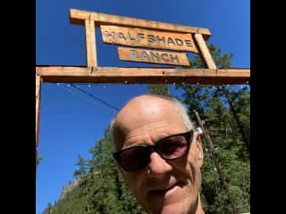Visiting best and drear friends Doug & Debbie at their estate, Kaleden BC, July 2021.