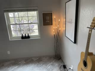 Your Room - feel free to play the guitar if you do play