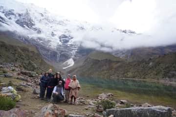 The most beautiful lake in Peru, Lake Humantay
