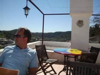 Rob in the Algarve