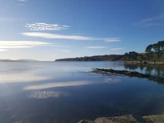 Very nearby view of Bantry Bay