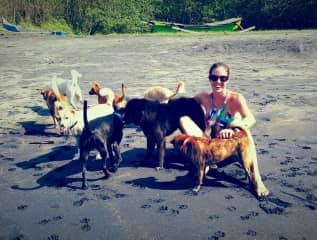 Beach time = fun time