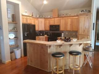 Oregon house: kitchen